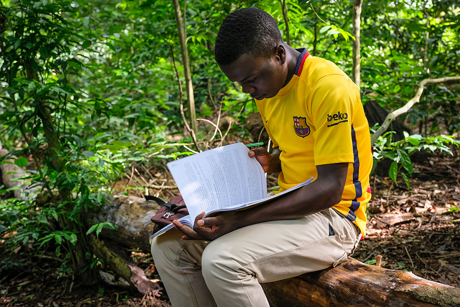 Training a new generation of Congolese forestry researchers