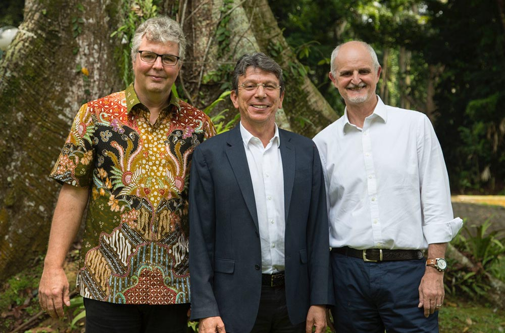 Leadership transition to build on CIFOR's success and impact